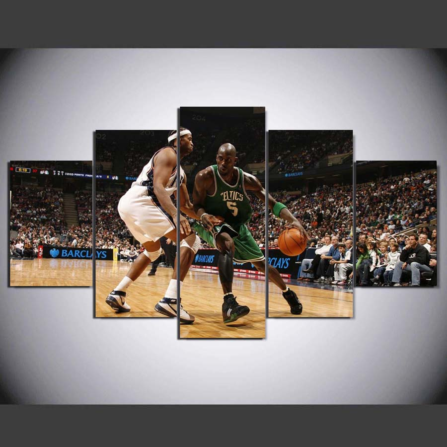 Sports Basketball Kevin Garnett Boston Celtics New Jersey Nets Home Decoration Canvas Poster HD Print Picture TP-1037(China)