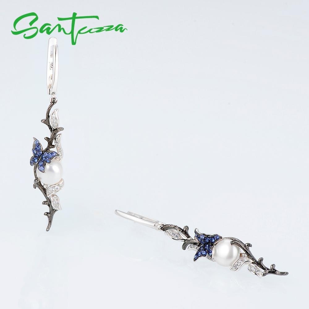 E307634BNFZSK925-SV3-Silver Earrings