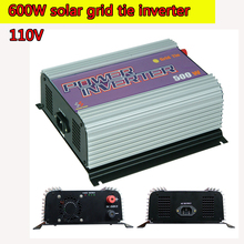 600W Pure Sine Wave Power Inverter 12V 110V  Micro Grid Tie MPPT Inverter 10.8V to 30V 22V to 60V Input 110V Output Single Phase