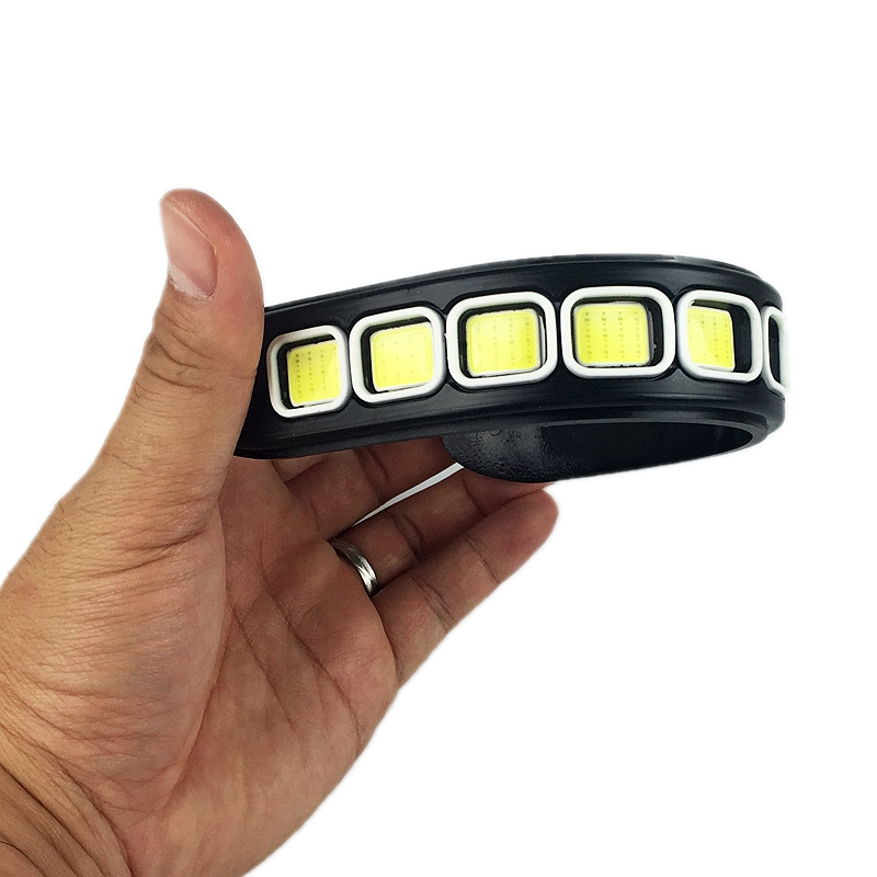 2Pcs/Set 2X1Pcs Flexible COB LED DRL Can 360 Degree Bending Car Styling Daytime Running Light Source Head Lamp White Fog Lamps<br><br>Aliexpress
