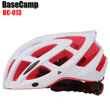 Buy BASECAMP Cycling Helmet Womens Mens EPS Bicycle Helmet Professional Mountain helmet Racing Bike IN-MOLD Safely Cap 56-62cm for $20.28 in AliExpress store