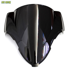 motorcycle Black Windshield/Windscreen For Suzuki Hayabusa GSXR 1300 1999-2007 99 00 01 02 03 04 05 06 07(China)