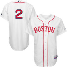MLB Men's Boston Red Sox Xander Bogaerts White Home 6300 Player Authentic Jersey(China)