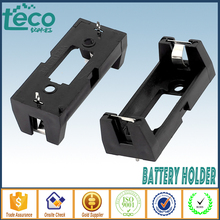 2pcs/lot DIY 1-Slot 3V CR123A/16340/17335 Lithium Battery Holder With Pins TBH-CR123A-1A-P(China)