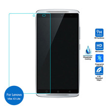 Buy 9H 2.5D Explosion-proof Tempered Glass Film Lenovo A7010 5.5inch Front LCD Screen Protector K4 Note Vibe X3 Lite for $1.38 in AliExpress store