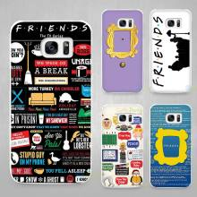 tumblr Friends TV Show Hard White Coque Shell Case Cover Phone Cases for Samsung Galaxy S4 S5 S6 S7 Edge Plus
