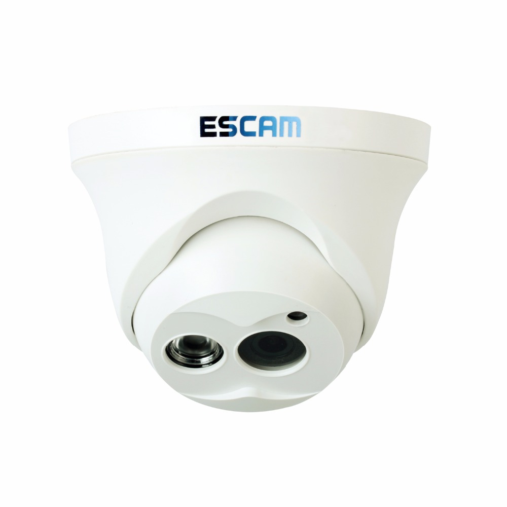 Escam IP Camera QD100 Custimized Night Vision Onvif 3.6mm len HD 720P H.264 1/4 CMOS P2P Mini Camera IR Security CCTV Camera<br>