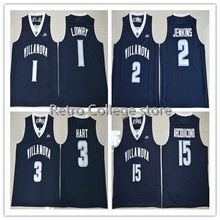 #15 Ryan Arcidiacono #1 Kyle Lowry #2 Kris Jenkins #3 Josh Hart Virginia Wildcats Retro throwback College basketball Jersey(China)