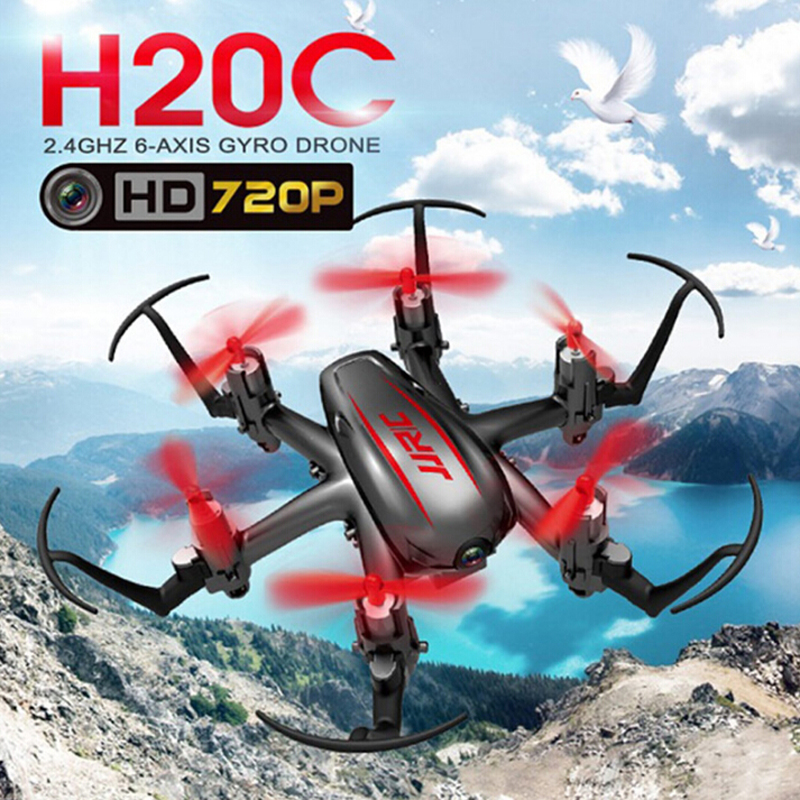 JJRC H20C Mini Drone 2.4G 4CH 6Axis Headless Mode with 2MP 720P Camera Nano Hexacopter RTF<br>