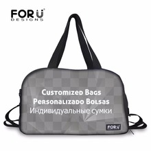 FORUDESIGNS Customized Waterproof Gym Tote Bags Sport Handbags for Men Yoga Mat Bags for Women Outdoor Shoulder Bags(China)