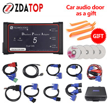 ZOLIZDA arrival dearborn dpa 5 dual Auto Heavy Duty Truck tool without bluetooth DPA5 better than NEXIQ USB Link Lowest Price(China)