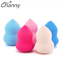 2017 New Makeup Sponge Cosmetic Foundation Powder Puff Blender Blending Beauty Makeup Power Sponge Flawless Smooth Make Up Tool