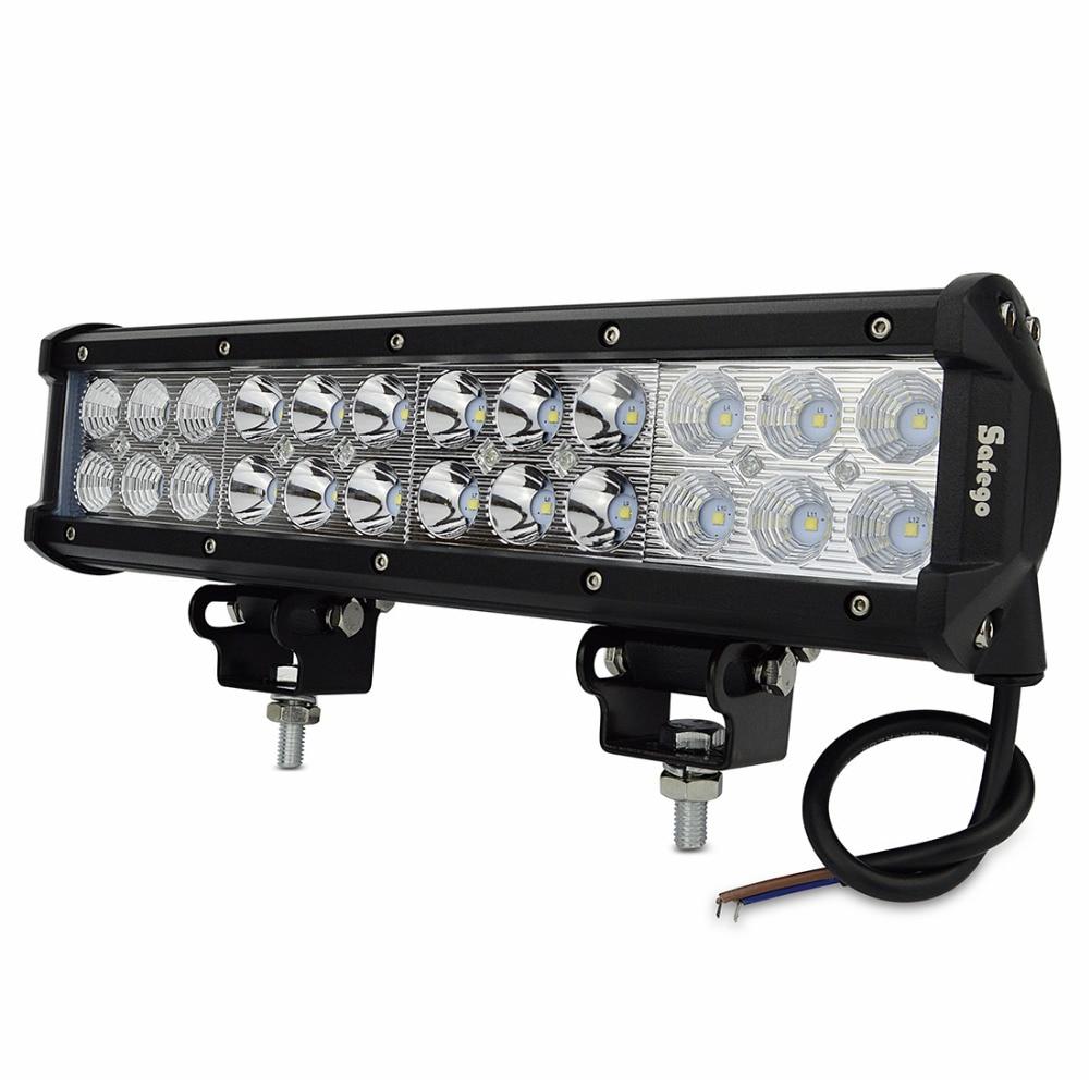 12inch 72W LED Light Bar  Combo Beam Offroad Light 12V 24V LED Work Light For ATV SUV 4WD 4X4 Boating Hunting<br><br>Aliexpress