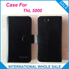Hot! 5000 THL Case New 2017 items Free Shipping Factory Price Flip Leather Case Exclusive Cover For THL 5000(China)