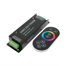 New  HOT Led Rgb DMX Decoder Controller 12V DMX512 Decoder RF Remote Led Strip Rgb DMX Controle Console Dmx100 Free Shipping
