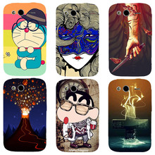 Case For HTC Wildfire S G13 A510e A510C Cover Fashion HD UV Printing Cartoon Back Shell Hard Plastic Skin Phone Coque New Hot(China)