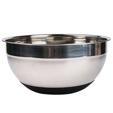black  Bottom Antiskid Stainless Steel Deepen Egg Beaters Stirring Salad Bowl Kitchen Cooking Tools CT063