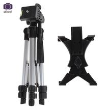 1Pc Professional Flexiable 3 Camera Tripod Stand Holder +Carry Bag For iPad 2 3 4 Mini Air Pro For Samsung Tripods Stand Holder