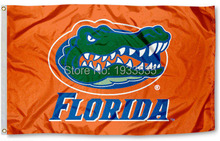 Florida Gators Flag UF Orange Large Outdoor Banner Flag 3' x 5' Banner brass metal holes Flag(China)