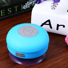 Portable High Quality Waterproof Wireless Mini Bluetooth Speaker Music Sound Water Car Speakers Resistant Bathroom Shower Bar