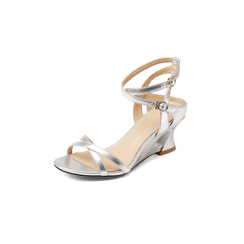 Gladiator Sandals Women Genuine Leather Women Sandals High Quality<br>