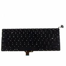 "UK Standard Notebook Computer Replacement Keyboards For Apple Macbook Pro A1278 13"" 2009 2010 2011 Laptops Keyboards VCG38"