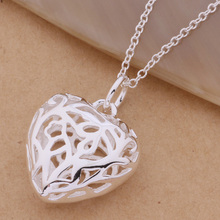 2016Fine Jewelry Findings Necklace Chains Silver Plated  Wave Chain+Lobeter Clasp Jewellery  For Pendant Heart