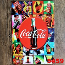 Coke ! Vintage Metal Tin Signs Retro Tin Plate Sign Wall Decoration for Cafe Bar Shop and Restaurant Custom Neon Sign Feyenoord