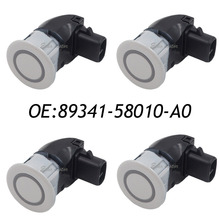 New 4pcs 89341-58010-A0 Car Parking Ultrasonic Sensor for Toyota Alphard 89341-58010 ,89341-58010-A0 042(China)