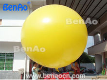 AO111 Free shipping  Yellow inflatable balloon helium blimp, PVC inflatable helium sky balloon for advertising