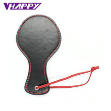 Buy Roleplay Leather Spanking Paddle Flirt Clap Pat Ass Male Female Sex Toys Bat Head Men Adult Couple Slave Game VP-PE005028A