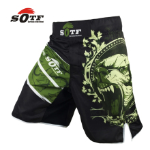 SOTF The black bear mma shorts muay thai boxing trunks yokkao brock lesnar tiger muay thai kickboxing SOTF brand mma boxeo(China)