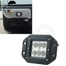 "1Pcs 3"" 18w Led Pod Light with Flush Mount Fog Light for Offroad ATV Trucks car side by side install(China)"