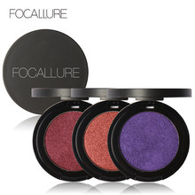 FOCALLURE 11 Color Single Eye Shadow Makeup Party Waterproof Shimmer Eyeshadow Palette Cosmetic Makeup Eye Shadow Maquiagem