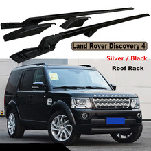 Car Roof Rack Luggage Racks For Land Rover Discovery 4 LR4 2010-2017 High Quality New Aluminium Screw Fixing Car Accessorie(China)