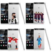 Coque Sport Football Soccer Star Ronaldo Messi Paulo Dybala pogba Soft TPU Phone Case Cover for Huawei P8 P9 Lite Plus 2017(China)