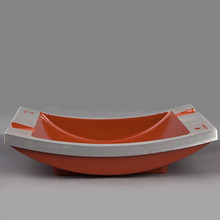 COHIBA Fashion Design Boat Shape Metal High Quality Cigar Ashtray with Two Holders