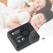 Electronic Ultrasonic Mosquito Repeller Magnetic EU Plug Portable Anti Rat Mole Bug Mouse Mosquito Repeller Rodent Pest Reject