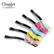 Chaplet 2016 New High Quality Fashion Girls Hair Accessories Bow Hairpin Bang Clips Soild Hairpins Hair Clips Free Shipping