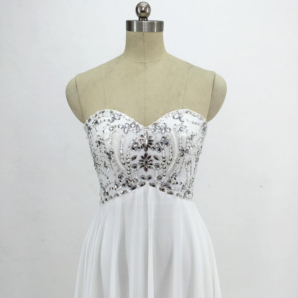 Sexy Chiffon A Line Beach Wedding Dresses Vintage Boho Cheap Bridal Gowns Vestidos De Novia Robe De Mariage Bridal Gown in stock 1