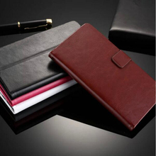 Free Shipping Luxury PU Leather Flip Case For Nokia X Dual SIM A110 Card Holder Cell Phone Bag(China)