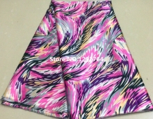 Free Shipping! New Design Print Wholesale  Silk Satin Fabric Material Textile For Sewing Dress TS8004