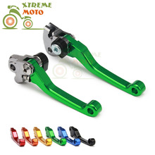 Motorcycle CNC Billet Pivot Foldable Brake Clutch Levers For KAWASAKI KX250F 2004-2017 04 05 06 07 08 09 10 11 12 13 14 15 16 17(China)