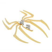 Metal Car Auto Supplies Bike Spider Logo Decal Sticker Emblem Badge 3D stickers for Car,PC, Motorcycle Decoration Parking