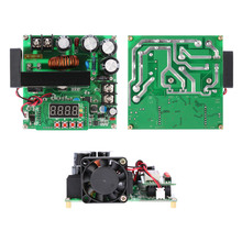 900W DC-DC Boost Module Digital Control 0-15A IN 8-60V OUT 10-120V Step-up Converter Power Supply CC/CV LED Display