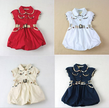 Brand Fashion New 2016 girls clothes kids party dresses for girls baby girl dress children clothing princess dress 18M-5T