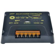 10A MPPT Solar Charge Controller 12V/24V Battery Panel Regulator Charger With USB 5V Output Max PV Input Voltage 50V