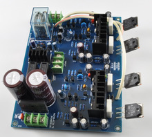 LJM MX100 SANKEN 2SA1186 2SC2837 AUDIO Dual-channel Power Amplifier Board(China)