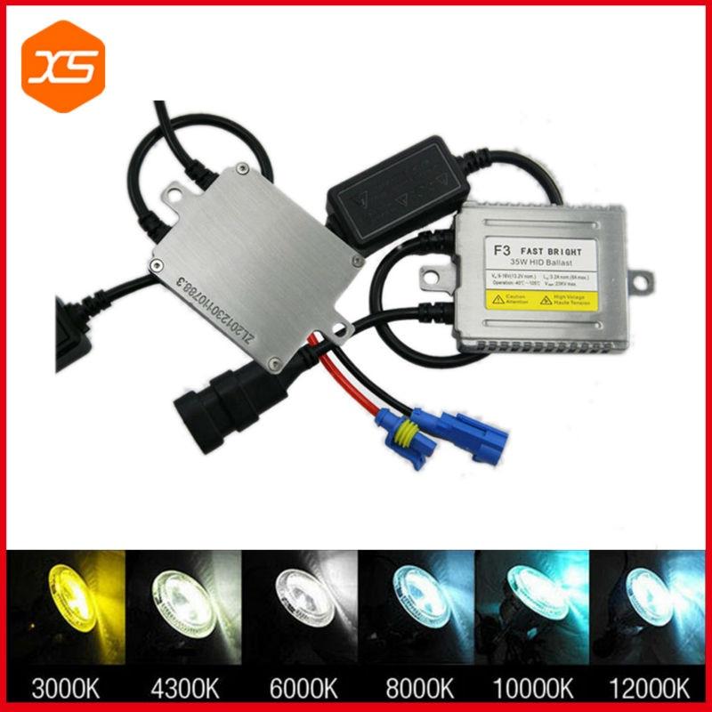 1pcs AC 12V Fast bright 35w hid xenon bulb conversion for h1 h7 880, smart system hid ballast<br><br>Aliexpress
