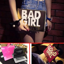 Case For iPad 4 3 2 Ultra Thin Magnetic with Stand PU Leather Retina Good/Bad Girl Smart Cover for iPad 2/3/4 With Free Gift